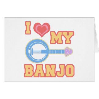 Tarjeta Amo mi banjo