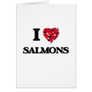 Tarjeta Amo salmones