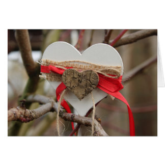 Tarjeta Amor al aire libre Notecard