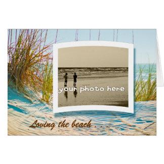 Tarjeta Amor de la playa