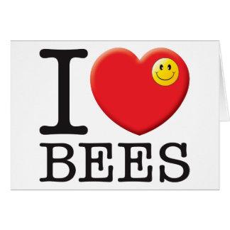 Tarjeta Amor de las abejas