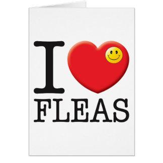 Tarjeta Amor de las pulgas