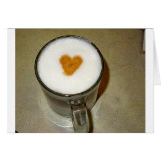 TARJETA AMOR DEL CAFÉ