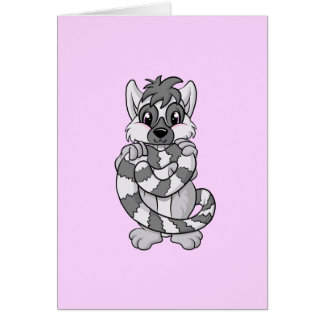 Tarjeta ¡Amor del Lemur!