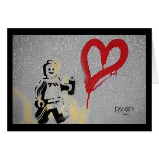 Tarjeta Amor del robot