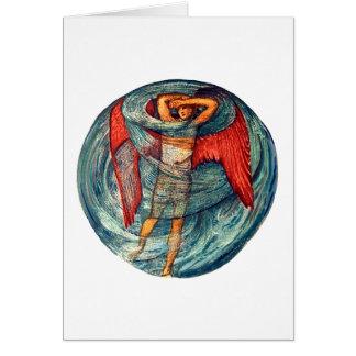 Tarjeta Amor en una niebla de Burne-Jones