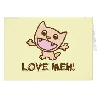 Tarjeta ¡Amor Meh!
