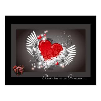 tarjeta amor San Valentín
