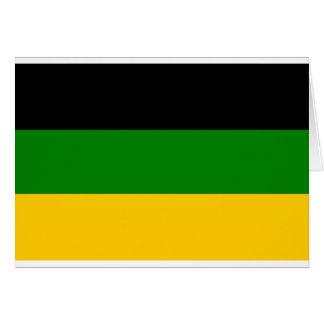 Tarjeta ANC africana Suráfrica del congreso nacional