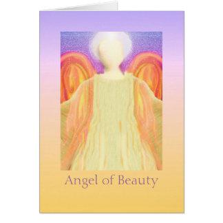 Tarjeta Ángel de la belleza