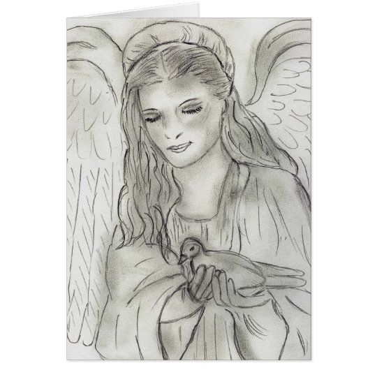 Tarjeta ángel pacífico