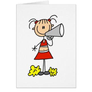 Tarjeta Animadora con el megáfono