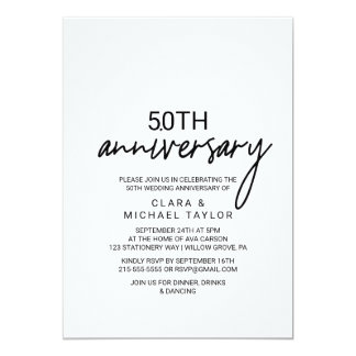 Tarjeta Aniversario caprichoso de la caligrafía