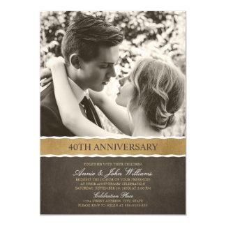 Tarjeta Aniversario de boda de la foto 40.a su imagen aquí