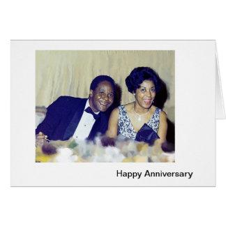 Tarjeta Aniversario feliz