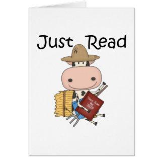 Tarjeta Apenas leído