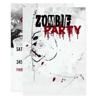Tarjeta Apocalipsis del zombi