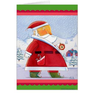 Tarjeta Aquí Santa Come's
