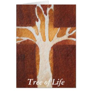 Tarjeta Árbol de la vida