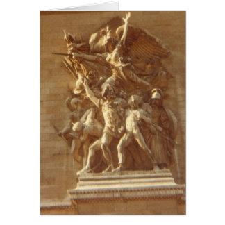 """Tarjeta """"Arco del Triunfo, París """""""