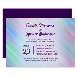 Tarjeta Arco iris romántico en colores pastel colorido del