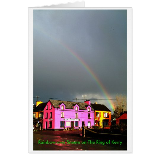 Tarjeta Arco iris sobre Sneem
