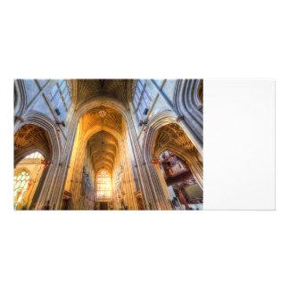 Tarjeta Arquitectura de la abadía del baño
