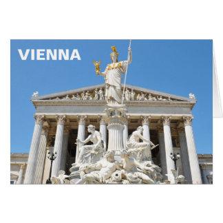 Tarjeta Arquitectura en Viena, Austria