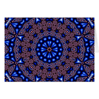 Tarjeta Arte 670 del caleidoscopio del fractal
