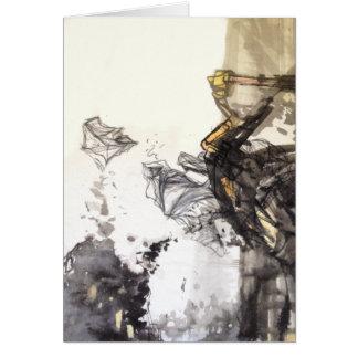 Tarjeta Arte abstracto de Di Guan Earth
