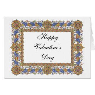 Tarjeta Arte de encargo gótico del el día de San Valentín