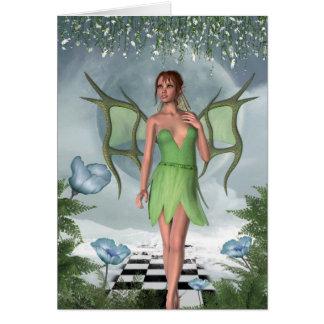 Tarjeta Arte de hadas de la fantasía de los sueños