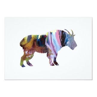 Tarjeta Arte de la cabra
