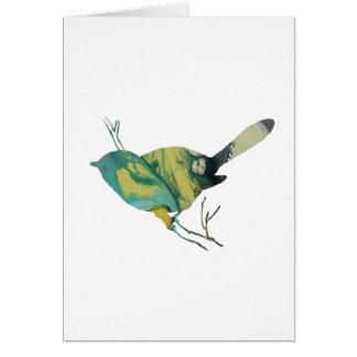 Tarjeta Arte del Chickadee