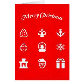 Tarjeta Arte-Navidad 117 del Tarjeta-Día de fiesta del
