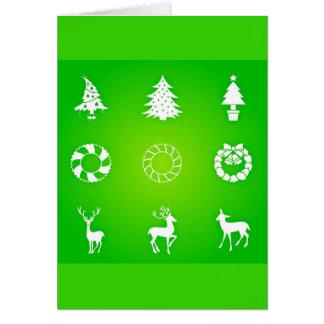 Tarjeta Arte-Navidad 118 del Tarjeta-Día de fiesta del