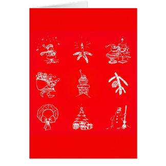 Tarjeta Arte-Navidad 119 del Tarjeta-Día de fiesta del
