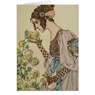 Tarjeta Arte Nouveau