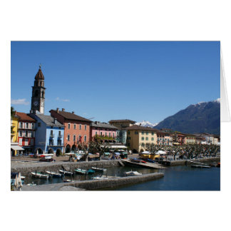 Tarjeta Ascona Suiza