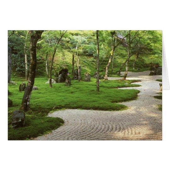 Tarjeta Asia, Japón, Fukuoka, Dazaifu, templo de Komyoji