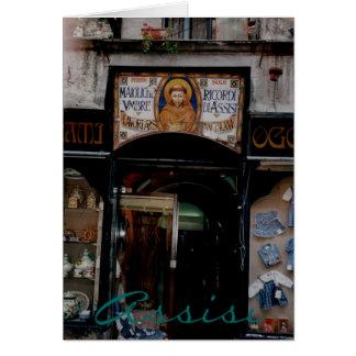 Tarjeta Assisi Umbría