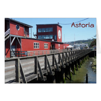 Tarjeta Astoria, Oregon