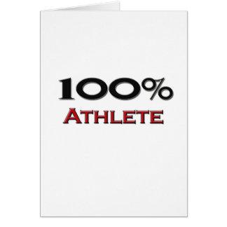 Tarjeta Atleta del 100 por ciento