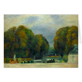 Tarjeta Auguste Renoir - Versalles