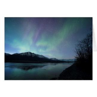Tarjeta Aurora del amanecer