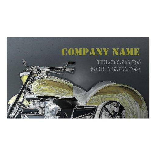 Tarjeta automotriz/de la motocicleta/de la bici/de tarjeta de visita