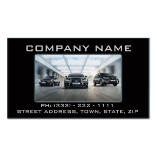 Tarjeta automotriz/del mecánico de visita tarjetas de visita