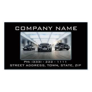 Tarjeta automotriz/del mecánico de visita tarjeta personal