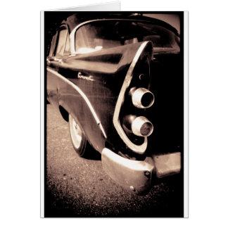Tarjeta Automóvil antiguo