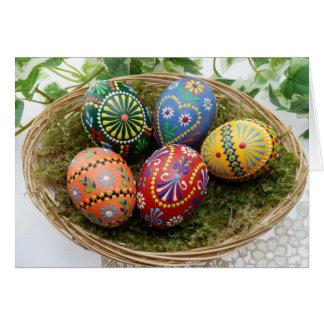 Tarjeta Autorización del tiempo de Pascua solamente para